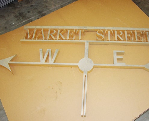 Street-Sign-Waterjet-Cut